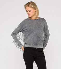 Bluza z działu Kobiety - kolor: szary – niskie ceny w sklepie C&A on-line!