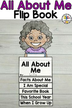 This All About Me Flip Book is a fun, back-to-school activity for your students to do during the first week of school. There are 5 flip book pages where Preschoolers, Kindergartners, and First Graders can share all about themselves. This easy, back-to-school craft lets kids practice drawing, writing, cutting, and following simple directions too. They can then share their books with one another to learn more about their classmates. Click on the picture to learn more! #abcsofliteracy #allaboutme