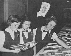 1950's parochial school uniform images | ... of St. Elizabeth with Catholic school students in uniform 1950's