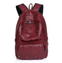 Cheap bag kitty, Buy Quality bag ps1 directly from China backpack bag brand Suppliers: 2014 New Fashion Women's Backpack Travel PU Leather School Bag Casual Rivet backpack in Stock Color for select
