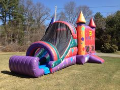 Get one of the best bounce house rentals in Portland, Windham, Scarborough & Falmouth Maine areas. inflatable bounce houses, water slides, & concession rentals from 207 bounce Falmouth Maine, Bounce House Rentals, Inflatable Bounce House, Water Slides, Things That Bounce, Balloons, Globes, Balloon, Hot Air Balloons