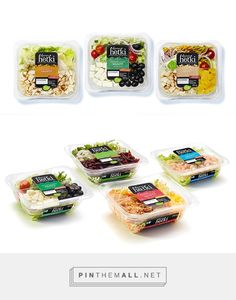 Fresh Salad Packages on Behance
