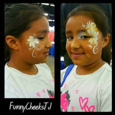 DFW Family Expo 2015 face painting by Dallas Face Painter Funny Cheeks TJ