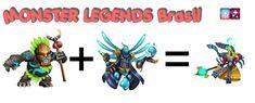 Monster Legends Cruzamento do Lendario Goldfield Monster Legends Breeding Guide, Monster Legends Game, Legend Games, Moose Art, Dragon, Couple, Animals, Games, Animales