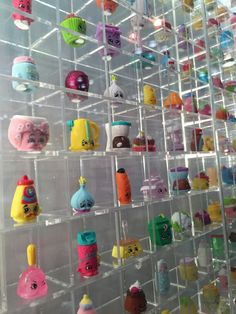 Shopkins galore for my babygirl's room.