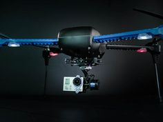 """GoPro cameras are great for capturing your view of what you're doing, but recording yourself usually involves poles or another person. The IRIS+ from 3D Robotics now gives you the opportunity to have a drone as your personal camera crew. According to 3D Robotics, the quadcopter is the first consumer drone with """"follow me"""" technology. Using 3DR's 3PV (third-person view) Follow Me feature, the IRIS+ can be set up to follow any GPS-enabled Android device."""