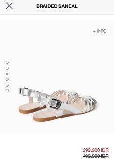 Braided sandal - zara 2014