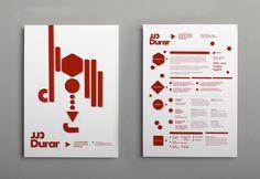 "Graphic identity for the Contemporary Jewerly Design Program (ARGEL) estudio diseño ""lo siento"""