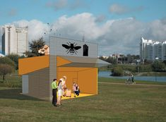 be a bee pavilion