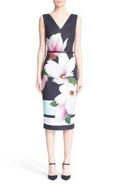 Ted Baker London 'Aviah' Belted Sheath Dress available at #Nordstrom