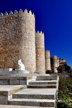 Walls of Avila, Castilla Leon, Spain