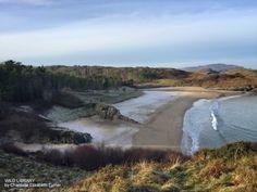 Winter memories   Wild Library blog  Frozen Beach, Ards Forest, County Donegal, Ireland. Short story.