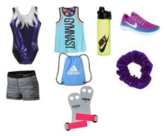 """Annie Bratayley inspired Gymnastics Outfit"" by itzjorja ❤ liked on Polyvore featuring beauty and NIKE"
