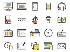 Dashel is a set of 45 free icons available in SVG, PSD and PNG formats. Designed by Print Express for Smashing Magazine.