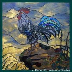 stained glass animals | Find great deals on eBay for rooster stained glass and stained glass ...