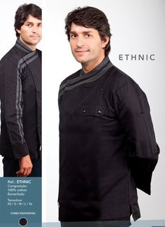Jaleca Ethnic/Ethnic chef coat