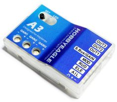 HobbyEagle A3 Aeroplane Flight Controller 6-axle Gyro for Fixed-wing