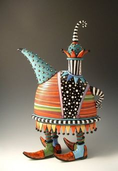 I love unique teapots. I'd decorate my whole house with them.