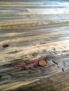 Hand scraped beetle kill pine flooring from Sustainable Lumber Co.