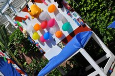 Circus /Carnival Birthday Party Ideas | Photo 11 of 19 | Catch My Party