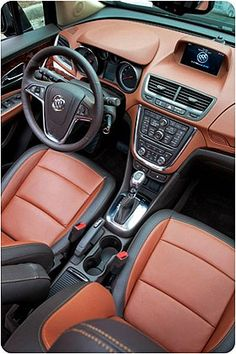 Buick Encore 2013 (interior), one of the best, coolest and cheapest luxury SUV for under $25000!