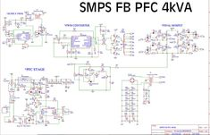 SMPS FULLBRIDGE PFC Schematic + PCB Layout PDF - Electronic Circuit Software Projects, Pi Projects, Electronic Circuit Projects, Electronic Engineering, Power Electronics, Electronics Projects, Switched Mode Power Supply, Pc Image, Price Signs