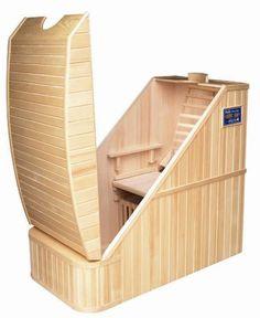 die besten 25 mini sauna ideen auf pinterest sauna f r. Black Bedroom Furniture Sets. Home Design Ideas
