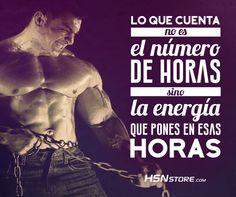 Cuenta la energía que pones en esas horas #fitness #motivation #motivacion #gym…