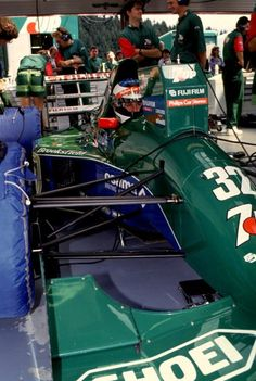 Michael Schumacher su Jordan - Ford Spa 1991