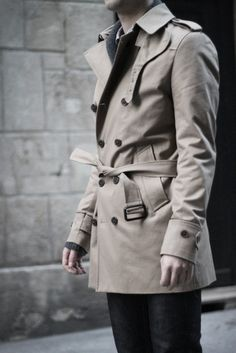 Can't go wrong in a classic trench