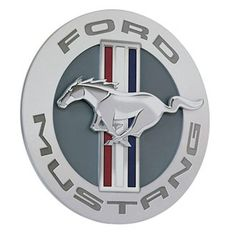 Ford Mustang Pub Sign Raised Mustang Logo FRD-45301