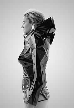parametric architectural techniques in clothing — Designspiration
