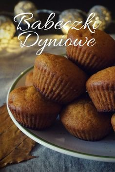 Przepis na proste muffiny z dyni / babeczki dyniowe / Pumpkin cupcakes Keto, Sweets, Baking, Breakfast, Recipes, Foods, Cakes, Morning Coffee, Food Food
