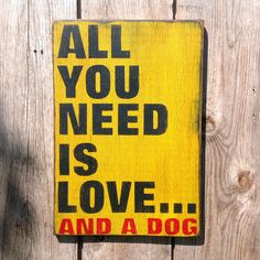 Reclaimed Wood Dog Sign - Pet Lover's Delight Collection - Dot & Bo