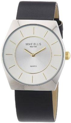 Mike Ellis New York Herren-Armbanduhr XS Analog Quarz Kunstleder M1126ASU/1 - http://uhr.haus/mike-ellis-new-york/mike-ellis-new-york-herren-armbanduhr-xs-analog-1