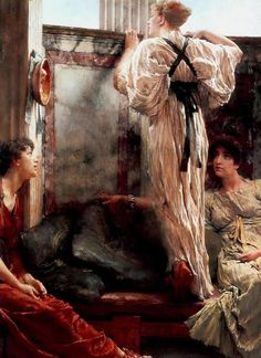 """Lawrence Alma-Tadema (Dutch painter) 1836 - 1912 