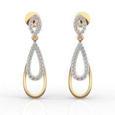 Best Online Diamond Jewellery store in India. Men's Jewellery, Designer Jewellery, Diamond Jewellery, Jewellery Designs, Gold Earrings, Drop Earrings, Diamonds And Gold, Personalized Jewelry, Fashion Earrings