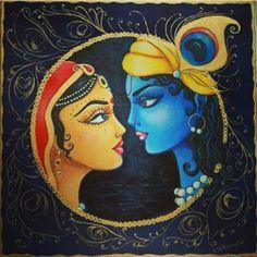 beautiful radharani & lord krishna by krishna.d.asi