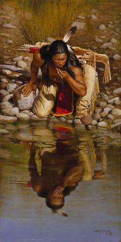 Amerindiens en peinture                                                       …