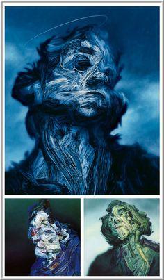 Paintings by Glenn Brown
