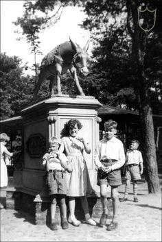 Ezeltje Strek je, 1956, Efteling, Kaatsheuvel, Wat begon als een speeltuin met sprookjes bos is allang een enorm pretpark geworden