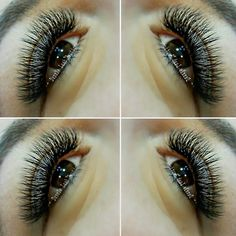 Volume eyelash extension inspiration!