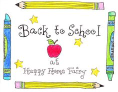 Back to School/teacher gift ideas and more