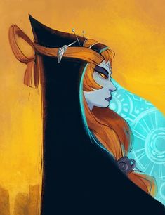 Legend of Zelda Twilight Princess art > Midna
