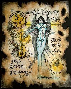 Devil Goddess by MrZarono   / http://mrzarono.deviantart.com/art/Devil-Goddess-360551448