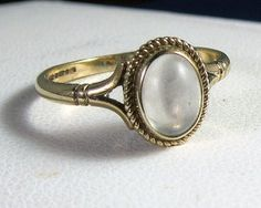 who doesn't thrift? love this vintage cocktail ring.