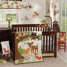 Woodland Tales 4-Piece Crib Bedding Set
