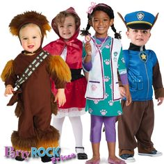 Find cute Toddler Halloween Costumes at Party Rock in Frisco. http://www.partyrockfrisco.com/costumes-halloween/costumes/costumes-for-toddlers.html