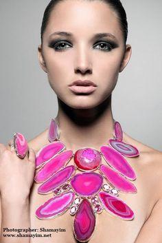"""Her"" design (Charles Albert Jewelry) I Love Jewelry, Diy Jewelry Making, Statement Jewelry, Jewelry Art, Gemstone Jewelry, Jewelry Accessories, Fashion Accessories, Jewelry Design, Fashion Jewelry"