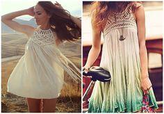 DIY Skirt Into Dress